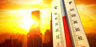 Bhubaneswar top the list of highest day maximum temperature with 39.4 °C In State
