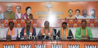 BJP Odisha President Criticized Odisha Govt. Over Development Kotia