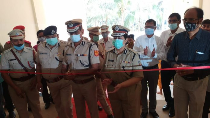 Odisha Fire Service DG Inaugurated Civil Defence Training Institute Building