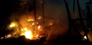 15 Houses Gutted In Fire, 5 Injured