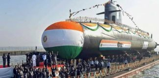 INS Karanj In Indian Navy Commissioned Scorpene Class Submarine Made In India