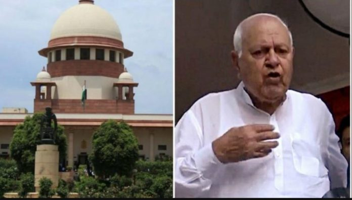 Jammu Kashmir Former CM Farooq Abdullah Article 370 SC Sedition Charge