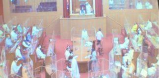 Odisha Assembly Adjourned Till 4PM Amid MLAs Rocks