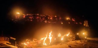 Naxals Sets Fire In 8 Vehicle At Sukma