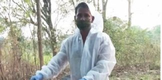 Son Carried Covid Positive Father's Dead Body In Cycle At Bolangir